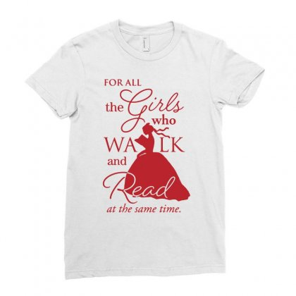 For All The Girls Ladies Fitted T-shirt Designed By Jablay