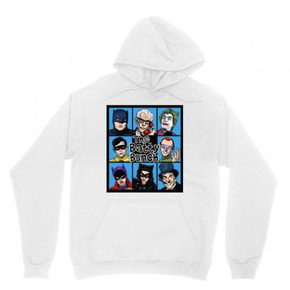 The Batty Bunch Unisex Hoodie Designed By Jablay