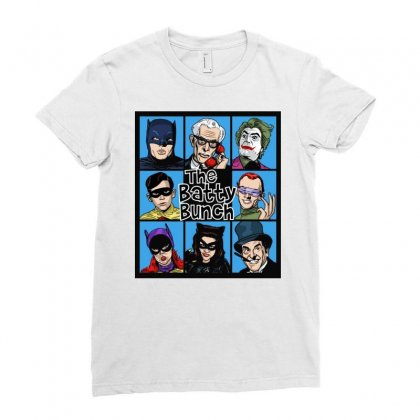 The Batty Bunch Ladies Fitted T-shirt Designed By Jablay