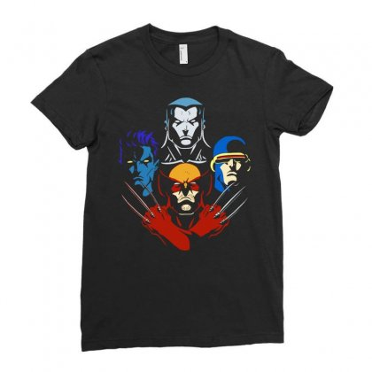 Mutant Rhapsody Ladies Fitted T-shirt Designed By Jablay