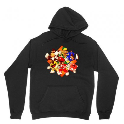 Funny Mighty Gaming Rangers Unisex Hoodie Designed By Jablay