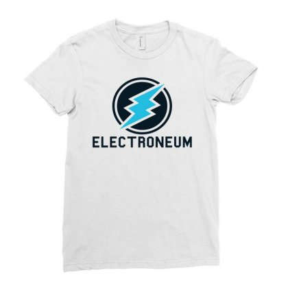 Professional Electroneum Ladies Fitted T-shirt Designed By Jablay