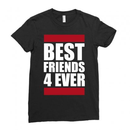 You Nad Me Are Best Friends 4 Ever Ladies Fitted T-shirt Designed By Jablay