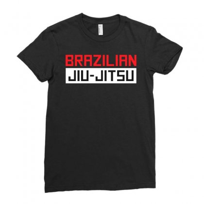 Barazilian Jiu Jitsu Ladies Fitted T-shirt Designed By Jablay