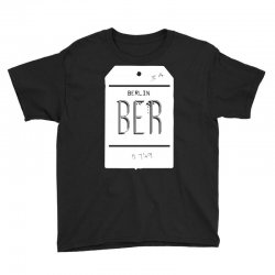berlin luggage tag Youth Tee | Artistshot