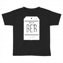 berlin luggage tag Toddler T-shirt | Artistshot