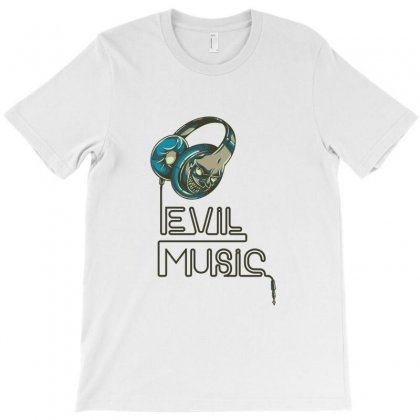 Evil Music T-shirt Designed By Perfect Designers