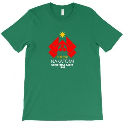 Nakatomi Christmas Party T-shirt Designed By Bambangtriadmaja