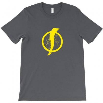 Static Shock Logo T-shirt Designed By Bambangtriadmaja