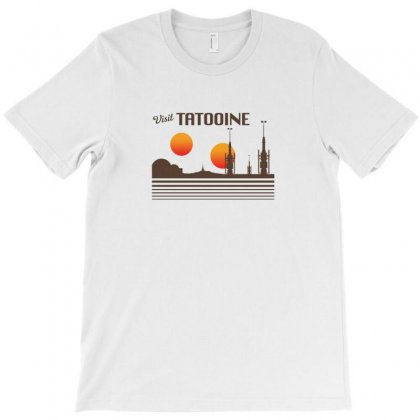 Visit Tatooine Merch T-shirt Designed By Bambangtriadmaja