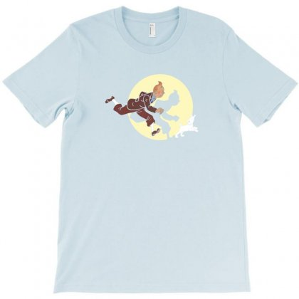 Of Tintin Movie T-shirt Designed By Bambangtriadmaja