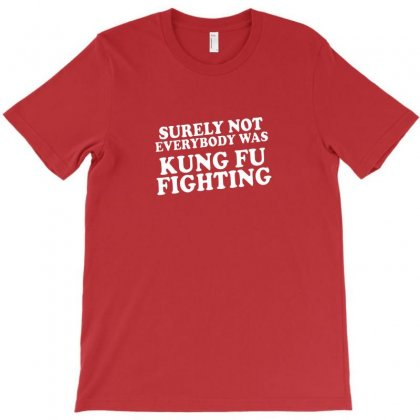 Surely Not Everybody Was Kung Fu Fighting Origin T-shirt Designed By Bambangtriadmaja