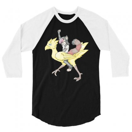 Ride On 3/4 Sleeve Shirt Designed By Dongdot Apparel