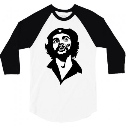 The Smoker 3/4 Sleeve Shirt Designed By Dongdot Apparel