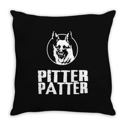 Letterkenny Pitter Patter Throw Pillow Designed By Dongdot Apparel