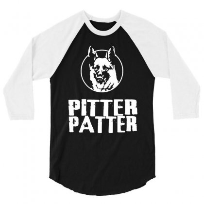 Letterkenny Pitter Patter 3/4 Sleeve Shirt Designed By Dongdot Apparel
