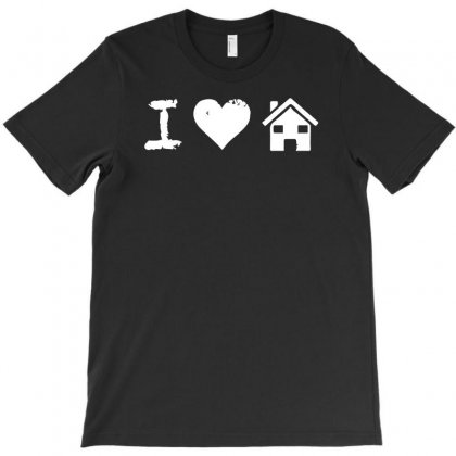 I Love House Music T-shirt Designed By R1dw4n