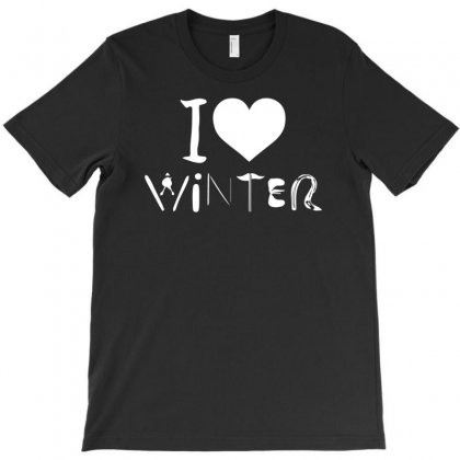 I Love Winter T-shirt Designed By R1dw4n