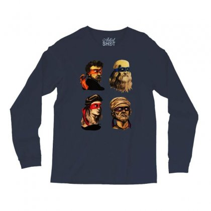 Renaissance Mutant Ninja Squad Artists Long Sleeve Shirts Designed By Just4you