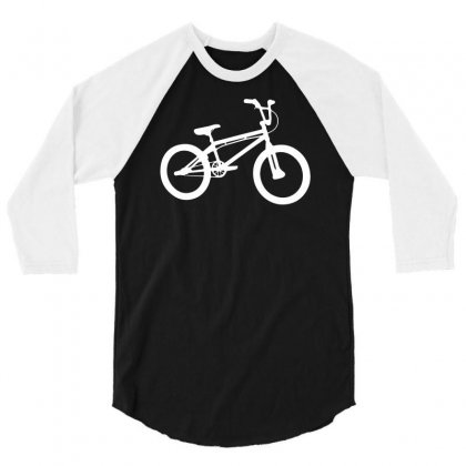 Bmx Bike 3/4 Sleeve Shirt Designed By Erni