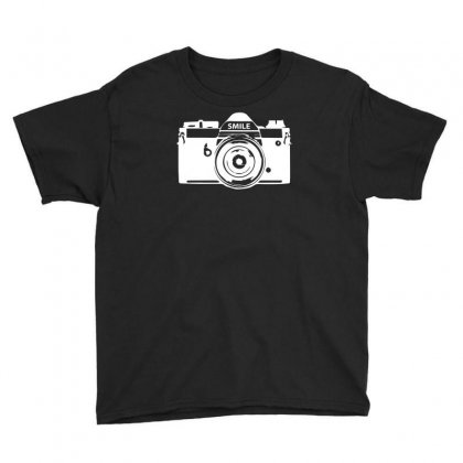 Camera Photography Youth Tee Designed By Erni
