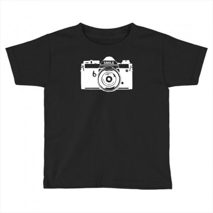 Camera Photography Toddler T-shirt Designed By Erni