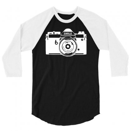 Camera Photography 3/4 Sleeve Shirt Designed By Erni