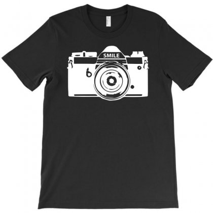 Camera Photography T-shirt Designed By Erni