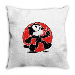 felix the cat Throw Pillow | Artistshot