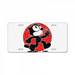 felix the cat License Plate | Artistshot