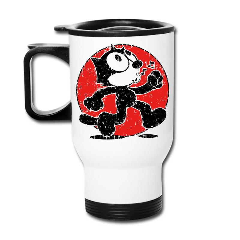 Felix The Cat Travel Mug | Artistshot