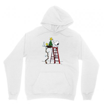 Snoopy Christmas Unisex Hoodie Designed By Roxanne