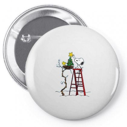 Snoopy Christmas Pin-back Button Designed By Roxanne