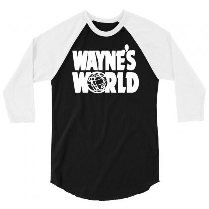 Wayne's World 3/4 Sleeve Shirt Designed By Erni