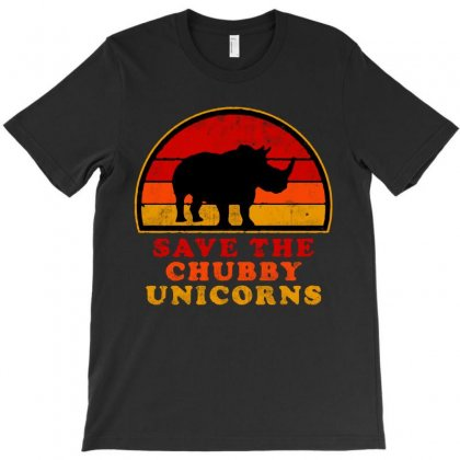 Save The Chubby Unicorns T-shirt Designed By Colorfull Art