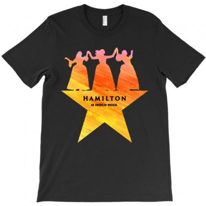 Hamilton An American Musical   Golden T-shirt Designed By Colorfull Art