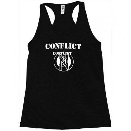 Conflict Racerback Tank Designed By Erni