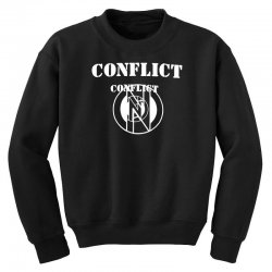 conflict Youth Sweatshirt | Artistshot