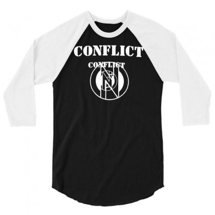 Conflict 3/4 Sleeve Shirt Designed By Erni