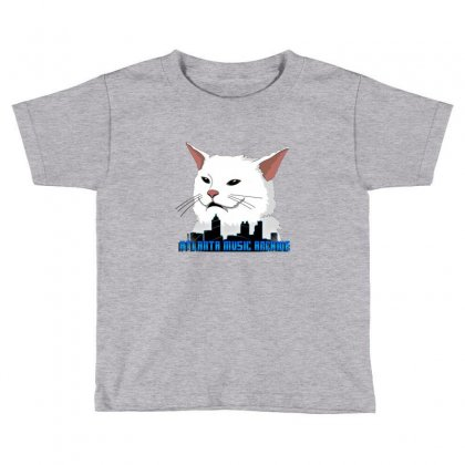 Atlanta Music Cat Toddler T-shirt Designed By Sr88