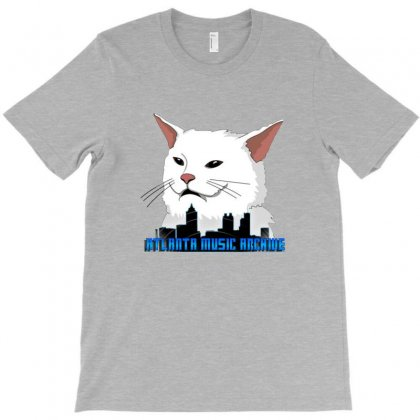 Atlanta Music Cat T-shirt Designed By Sr88