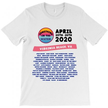 Something In The Water Virgina Beach 2020 Lineup T-shirt Designed By Nugrahadamanik