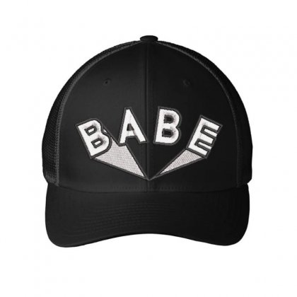 Babe Embroidered Mesh Cap Designed By Madhatter