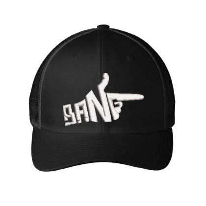 Bang Embroidered Mesh Cap Designed By Madhatter