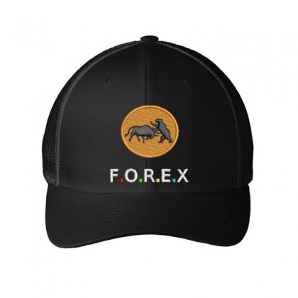 F.o.r.e.x Embroidered Mesh Cap Designed By Madhatter