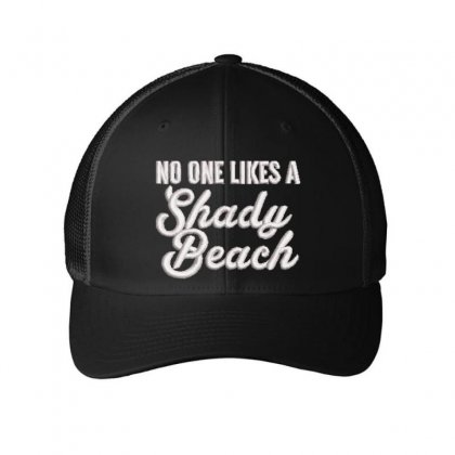 No One Likes Embroidered Mesh Cap Designed By Madhatter