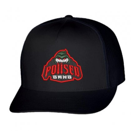 Poiised Gang Trucker Cap Designed By Madhatter