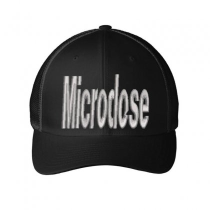 Microdose Embroidered Mesh Cap Designed By Madhatter