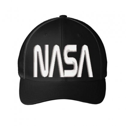 Nasa Embroidered Mesh Cap Designed By Madhatter