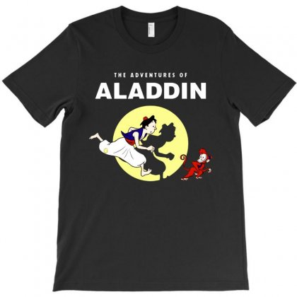 The Adventures Of Aladdin T-shirt Designed By Colorfull Art